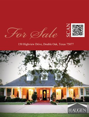 Haugen Properties - 150 Highview, Double Oak, Texas 75077
