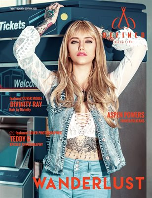 DEFINED MAGAZINE - TWENTY FOURTH EDITION - WANDERLUST