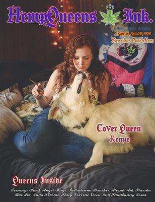 HempQueens Ink. Magazine ~ Issue 26 ~ Smoke Buddies ~ Kenzie