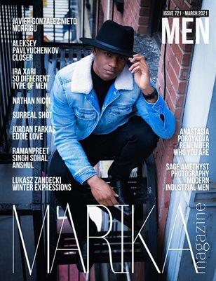 MARIKA MAGAZINE MEN (ISSUE 721 - MARCH)