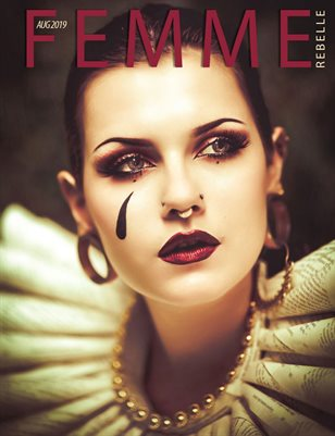 Femme Rebelle Magazine Aug 2019 BOOK 1 - Mélissa Royer Cover Cover