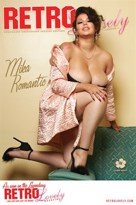 Mika Romantic - Chocolate Cheesecake Cover Poster
