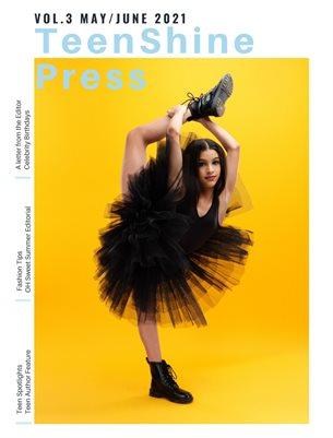 TeenShine Press Vol 3 May/June 2021