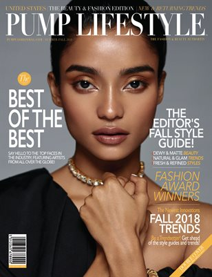 PUMP Lifestyle - The Beauty & Fashion Edition | October 2018 | VXVIII