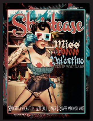 Striptease Magazine Issue Two