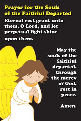 Happy Saints Prayer for the Faithful Departed