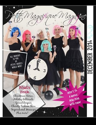 "Petite Magnifique Magazine's ""Babes in Toyland"" December 2014"