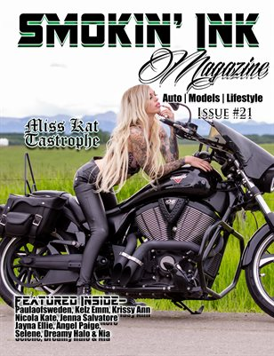 Smokin' Ink Magazine Issue #21 - Miss Kat Tastrophe