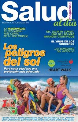 Edicion # 31, Año VII, Julio/Agosto 2010.