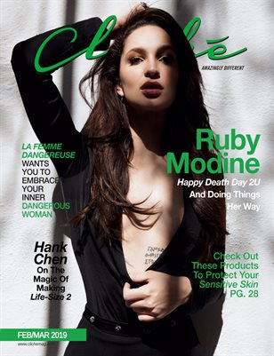 Cliché Magazine Feb/Mar 2019 (Ruby Modine)