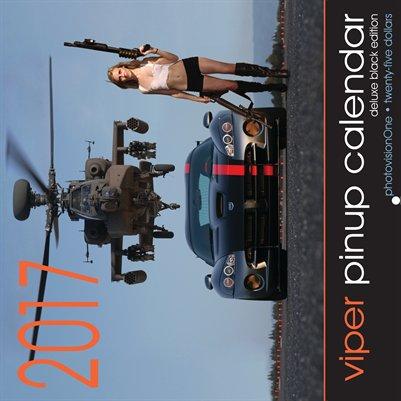 2017 Viper Pinup Calendar (Deluxe Black Edition)