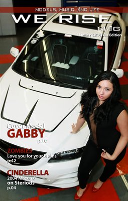 We Rise Mag January 2014 Car issue #38