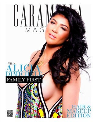 Hair and Makeup Issue Alicia DiMichele