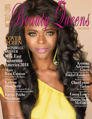 World Class Beauty Queens Magazine Issue 53 with Shonjrell Ladner