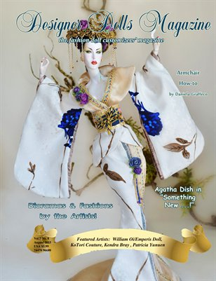 Designer Dolls Magazine - August 2015