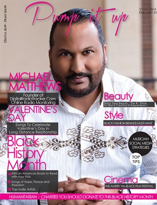 Pump it Up Magazine -Vol.6 - Issue #2 - With Michael Matthews Founder of Digital Radio Tracker