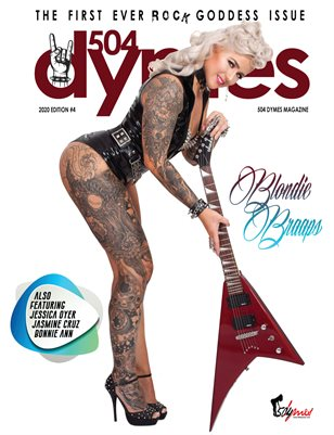 504Dymes Magazine Rock Goddess 2020 Vol. 2