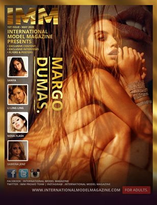 INTERNATIONAL MODEL MAGAZINE - MARGO DUMAS