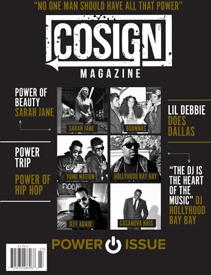COSIGN Magazine Issue #7 #PowerIssue