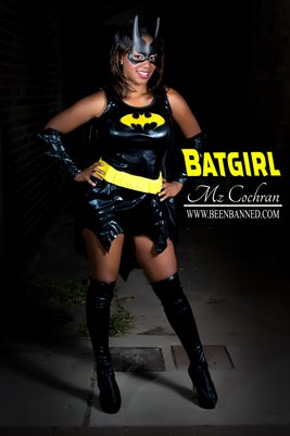 Mz Cochran as Batgirl