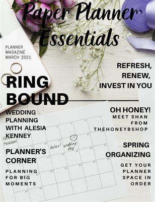 Paper Planner Essentials March 2021