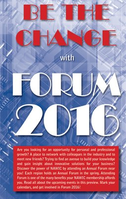 2016 NAWIC Forum Preview