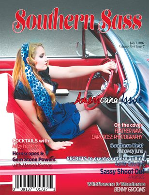 Southern Sass Magazine | Volume 4 Issue seven | Americana Issue