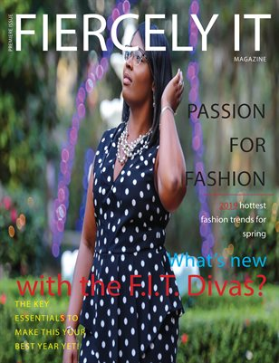 Fiercely It - Premiere Issue