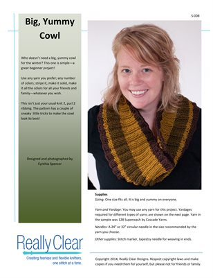 Big, Yummy Cowl