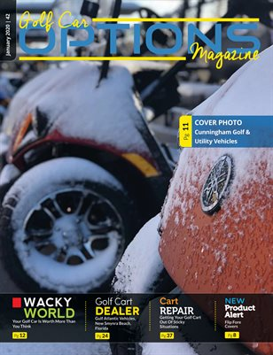 Golf Car Options Magazine - January 2020