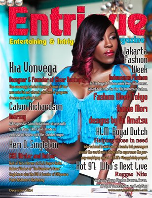 Entrigue Magazine December 2014 (Kia Vonvega)