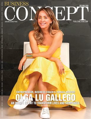 BUSINESS CONCEPT Magazine - OLGA LU GALLEGO - July/Aug 2020 - #18