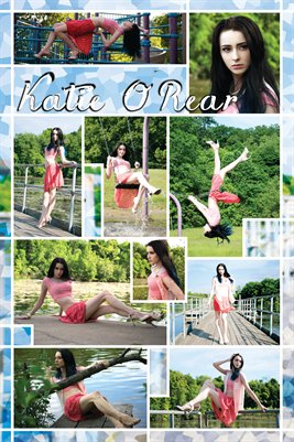 Katie O'Rear Model Poster: Pretty in Pink