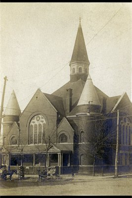 M.E. Church South Mayfield, Kentucky (abt 1926)