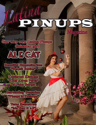 Latina Pinups Magazine: August 2014 issue