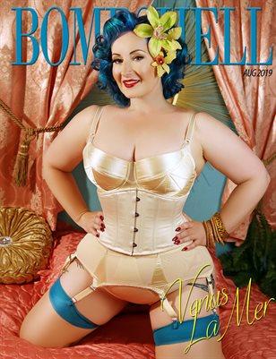 BOMBSHELL Magazine August 2019 BOOK 1 - Venus La Mer Cover
