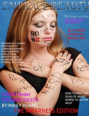 Embrace Beauty Magazine Awareness Edition  Issue 15