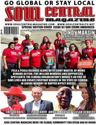SOUL CENTRAL MAGAZINE #82 Gun Crime Prevention