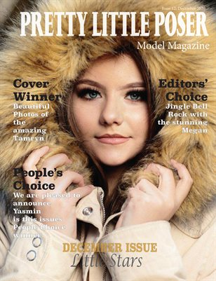 Pretty Little Poser Model Magazine - Issue 12 - Little Stars - December