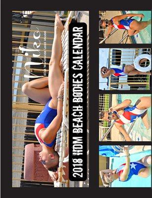Niko 2018 Beach Bodies Calendar