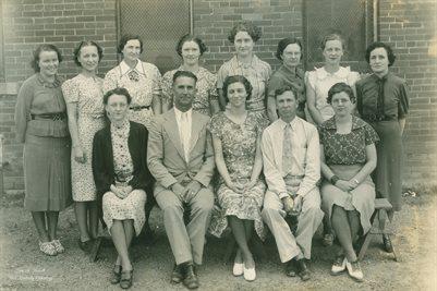 1937-38 MILLSAP HIGH SCHOOL, MILLSAP, PARKER COUNTY, TEXAS