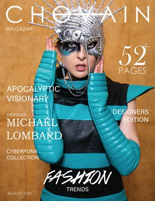 CHOVAIN Magazine - DESIGNERS Edition | ISSUE 03 COVER 2 | AUGUST 2020