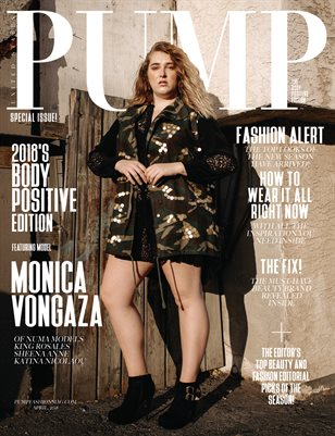 PUMP Magazine - The Body Positive Edition - Vol.2