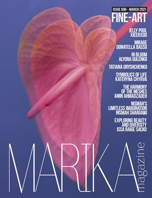 MARIKA MAGAZINE FINE-ART (ISSUE 696 - MARCH)