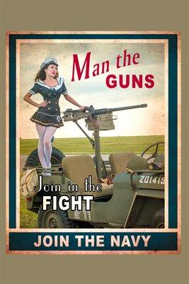Man the Guns 2 Poster
