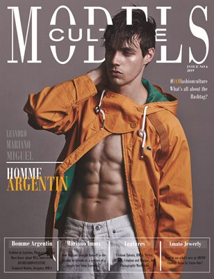 Homme Argentin - Models Culture Magazine Issue 6