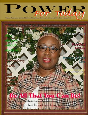 Power For Today Magazine, Fourth Quarter 2016