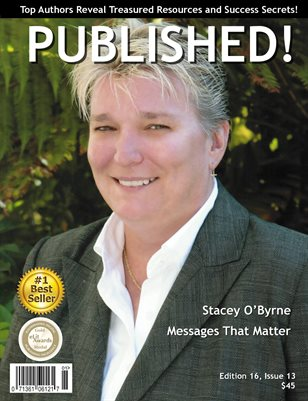 PUBLISHED! Magazine featuring Stacey O'Byrne