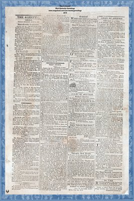 (PAGES 3-4) May 30, 1817, SALEM GAZETTE, Salem, Massachusetts