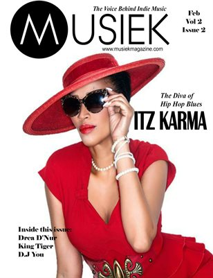 Musiek February Issue Featuring Itz Karma!